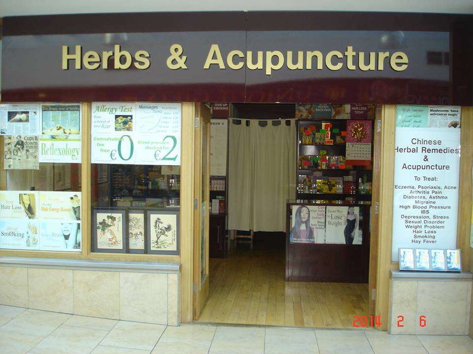 Herbs and Acupuncture front shop