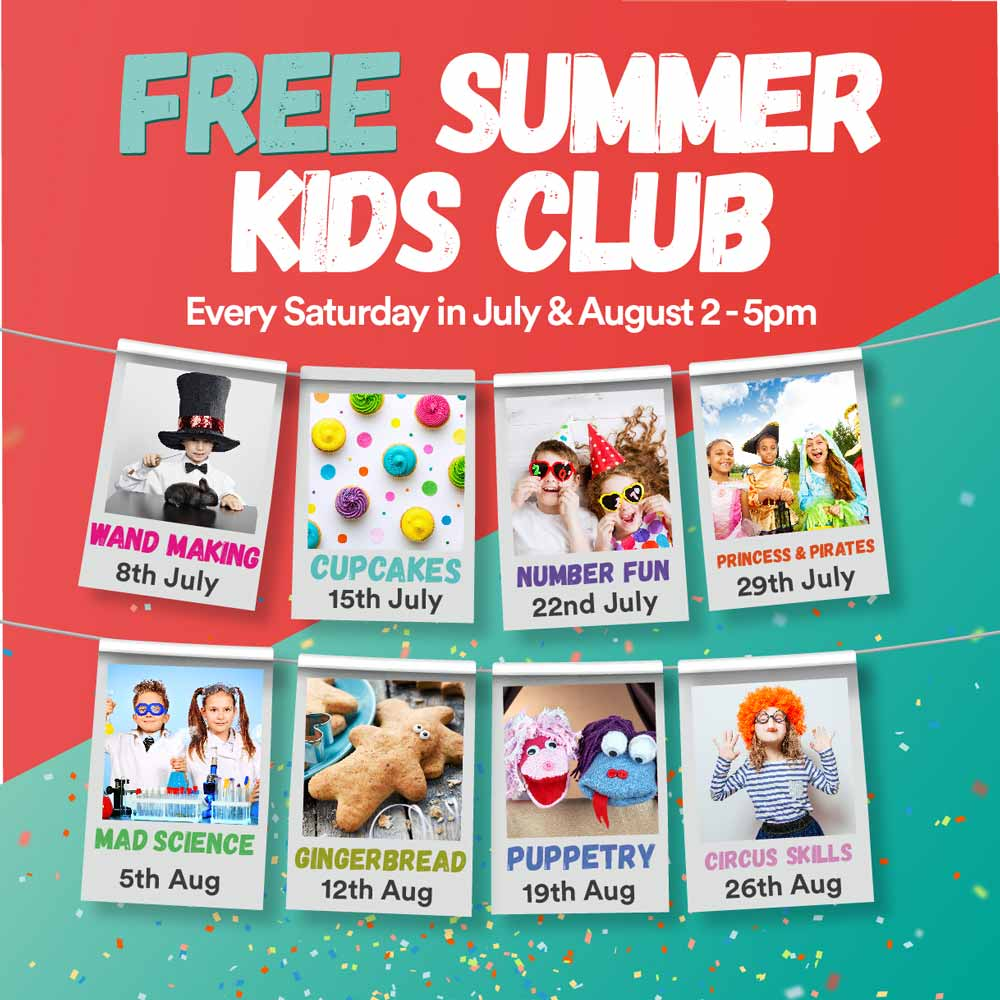 Free Summer Kids Club