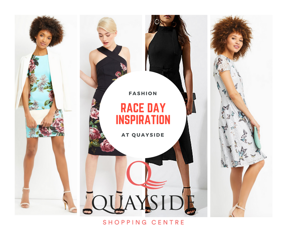 Race day and event Fashion at Quayside