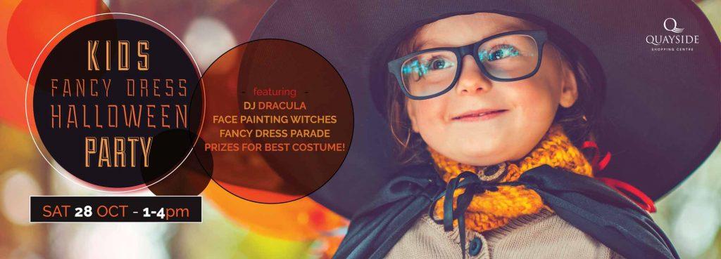 Kids fancy dress Halloween party