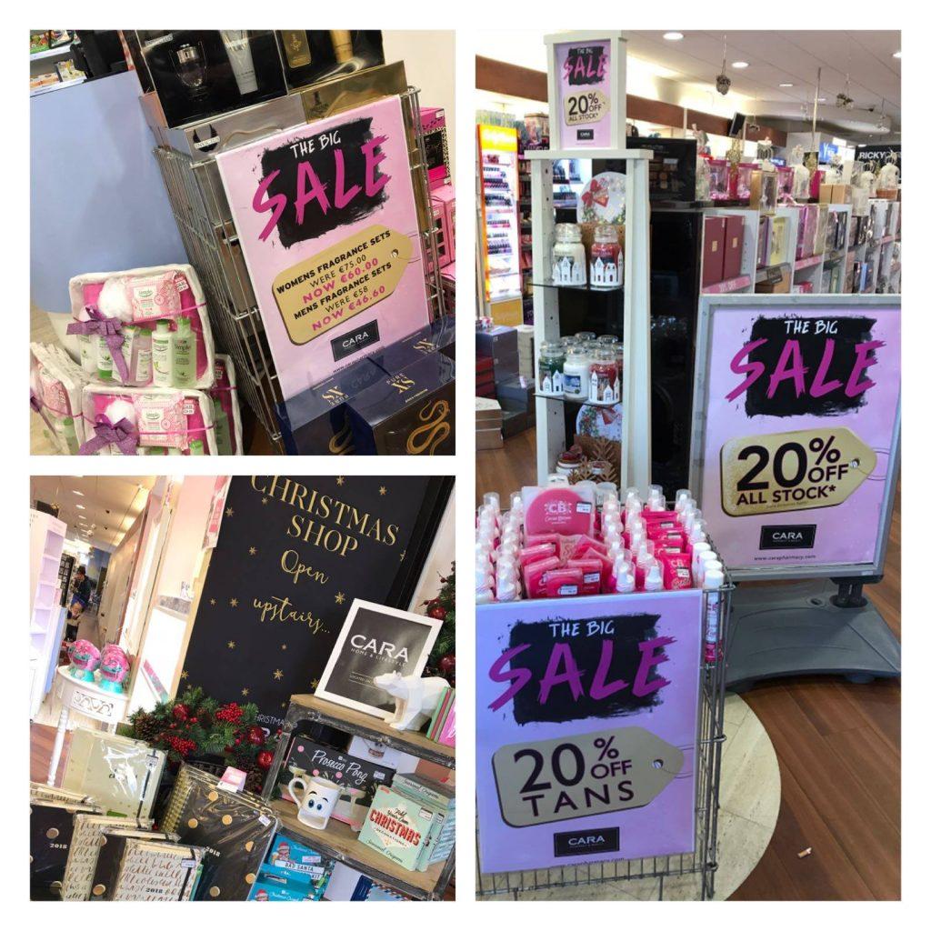 Cara Pharmacy sale
