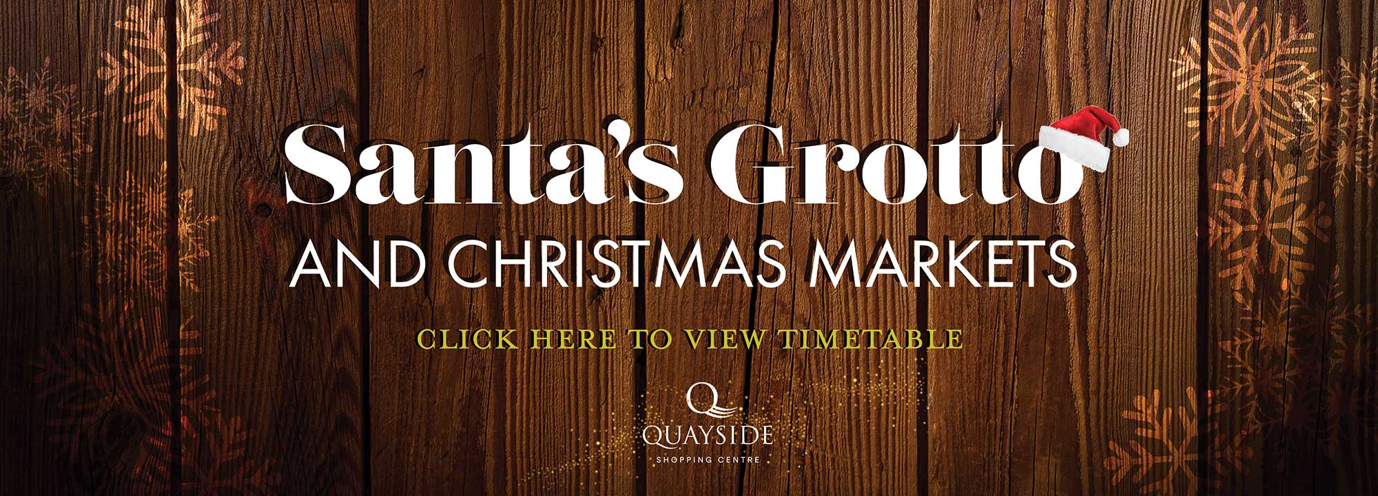 Click here for Santas Grotto and Christmas markets timetable