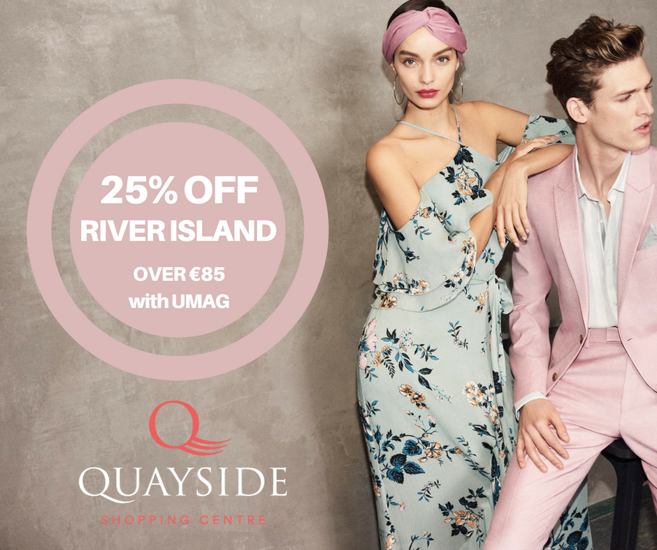 25% off at River Island