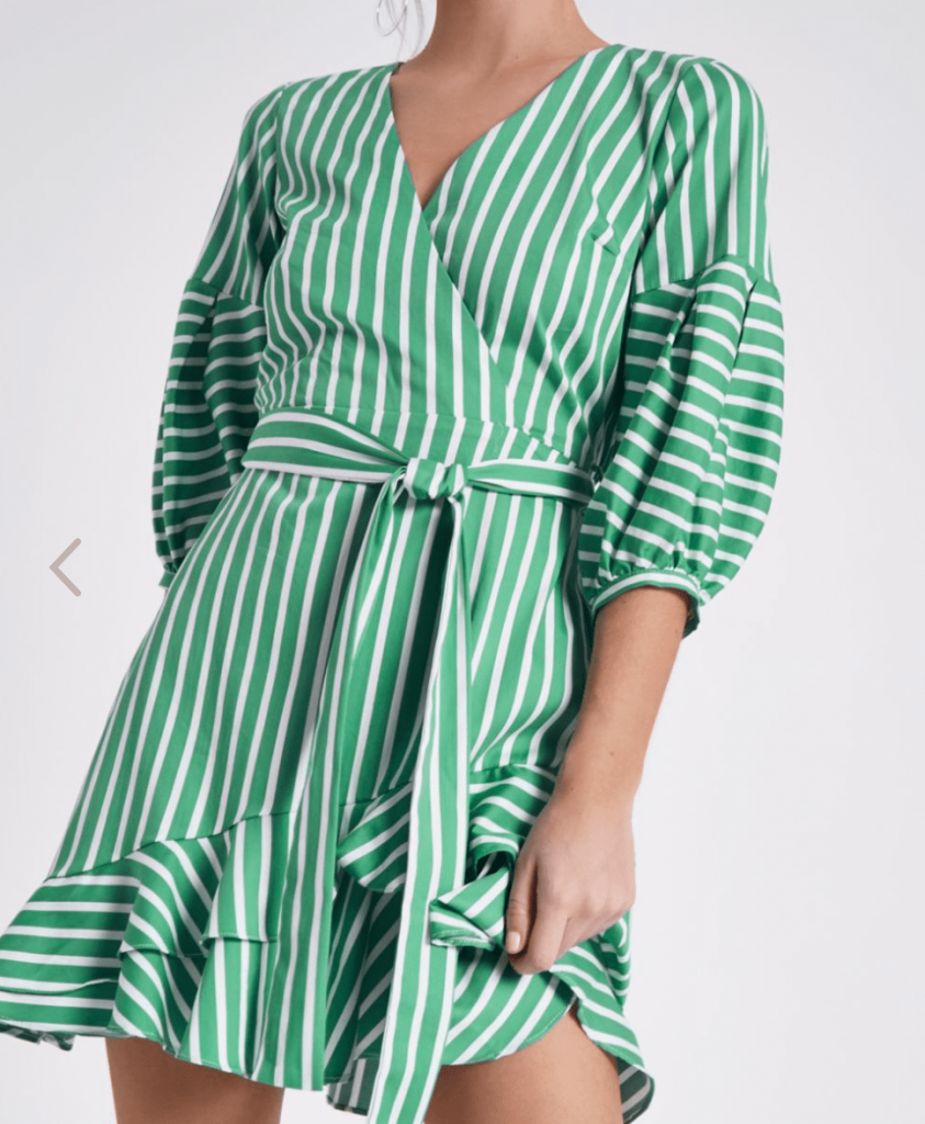 River Island wrap dresses