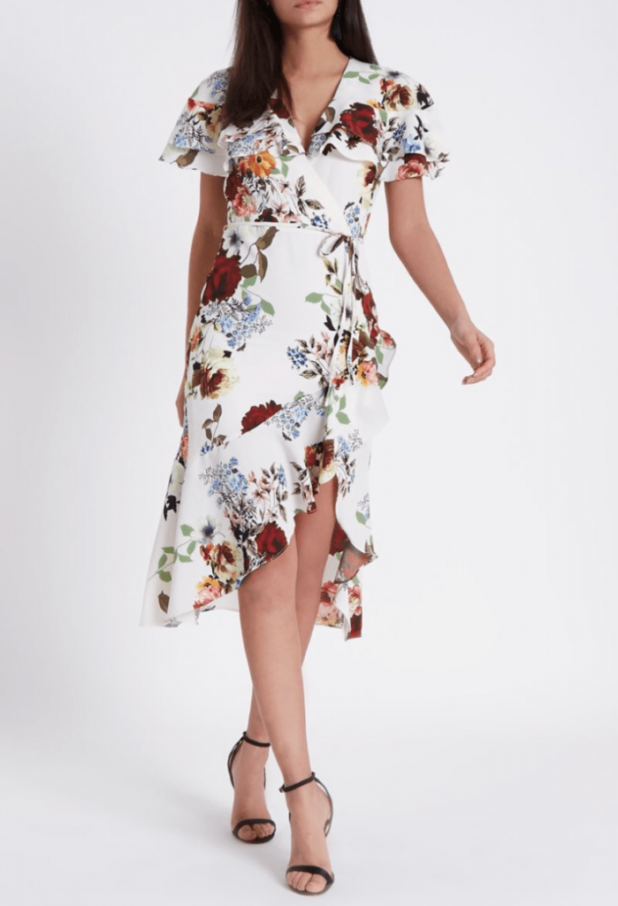 River Island Wrap Dress
