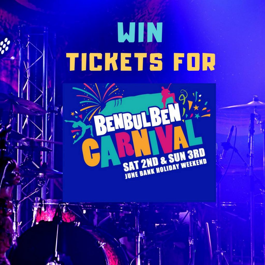 WIN Tickets to Benbulben Carnival