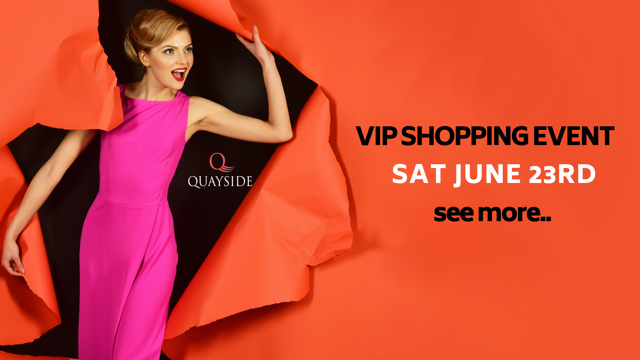 VIP shopping event