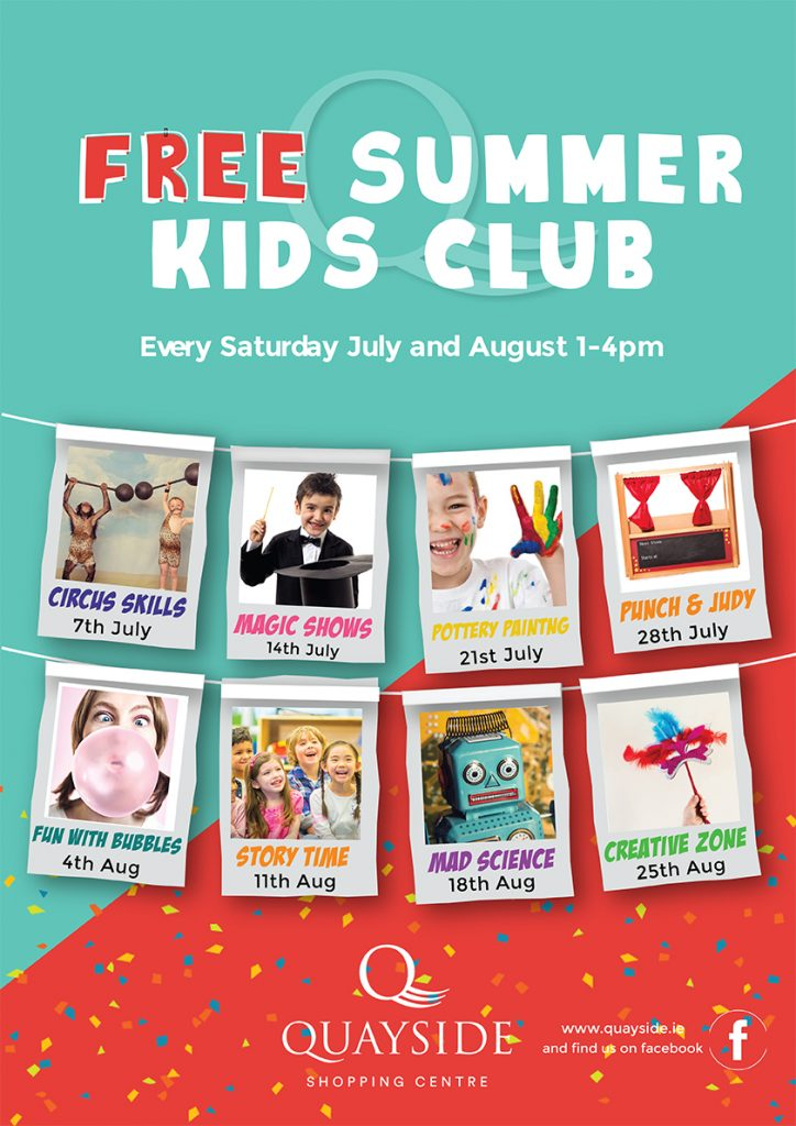 Free Summer kids club