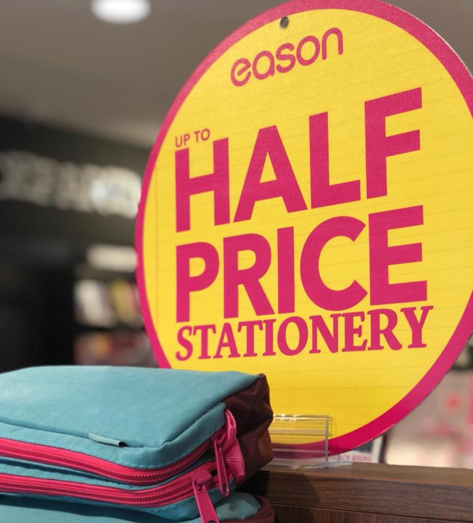 Easons Half Price offer