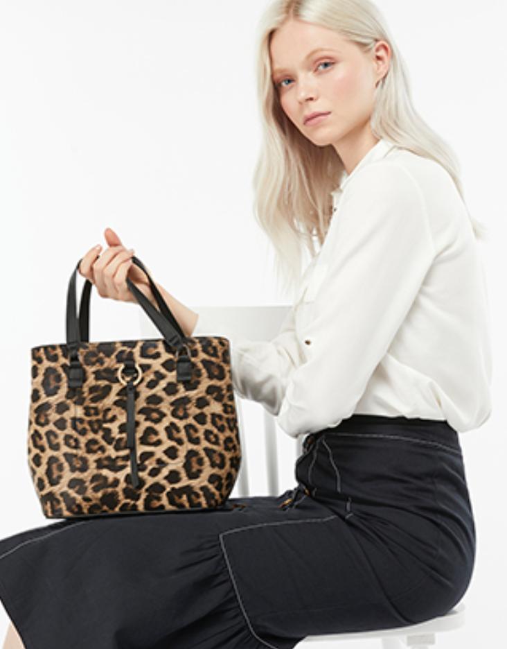 Leopard print Bag Accessorise