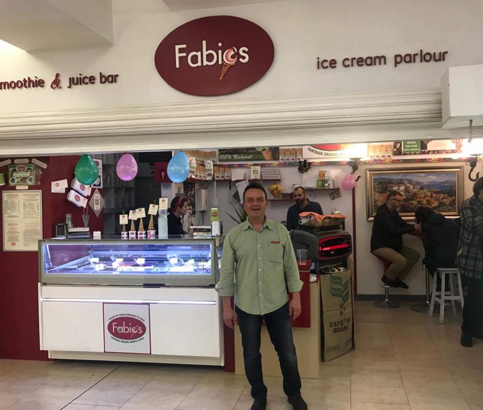 Fabios Ice cream Quayside