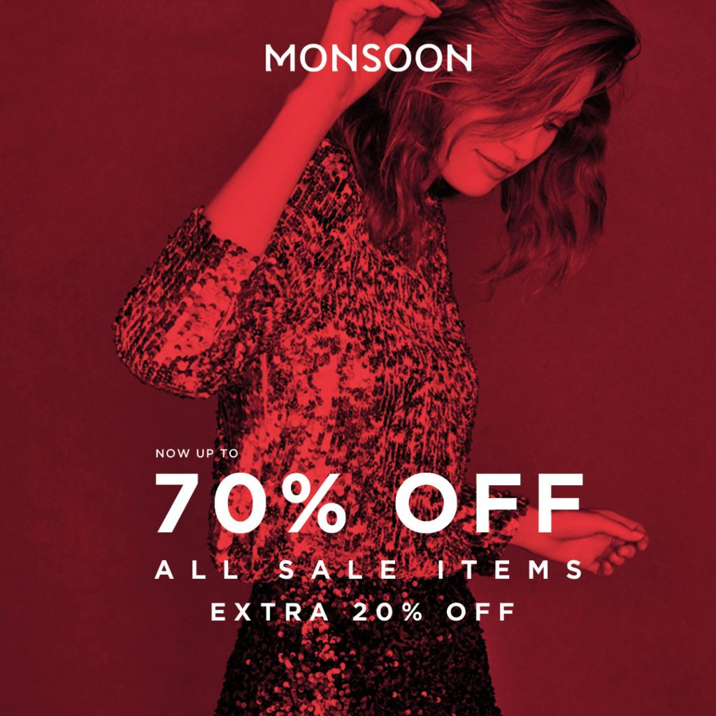 Monsoon Sale January 2019