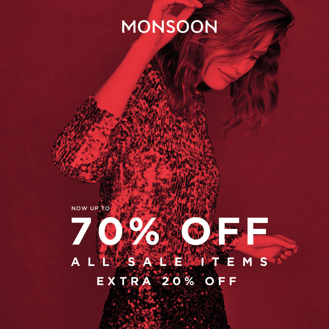 Monsoon Sale January 2019