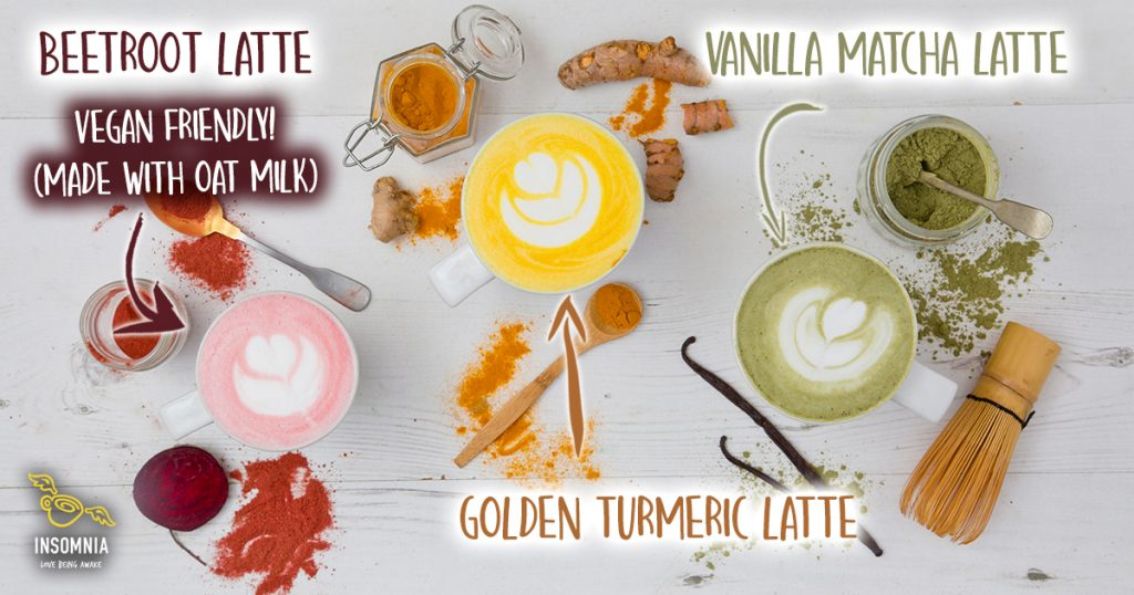 Insomnia Superfood lattes