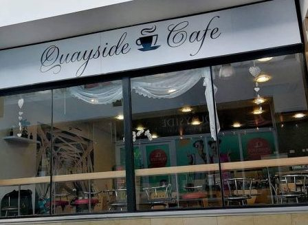 Quayside cafe Sligo