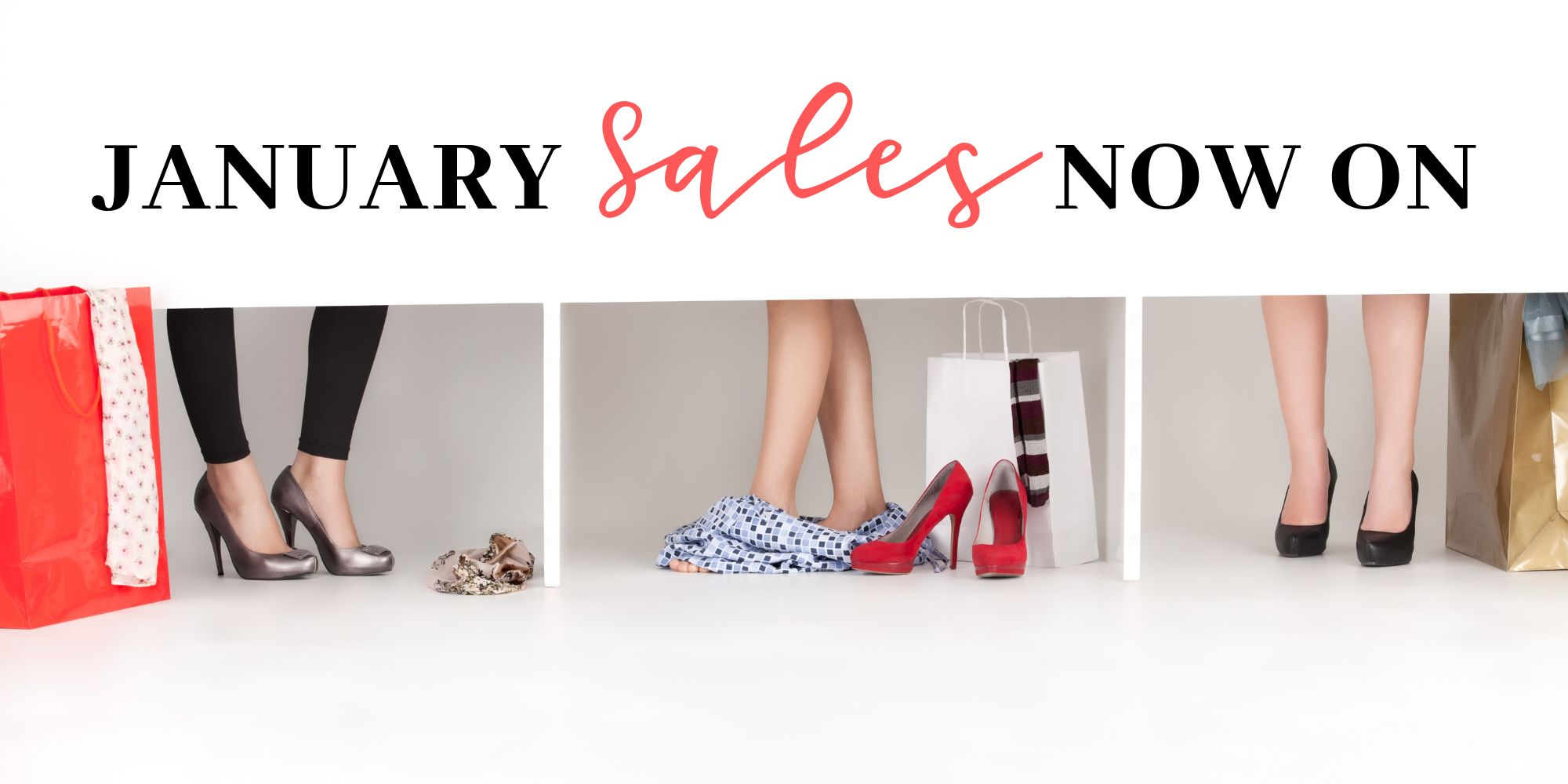 January sales now on