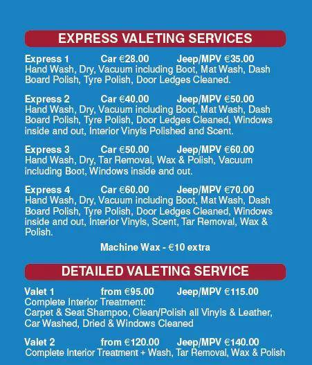 Imperial Auto Valeting services