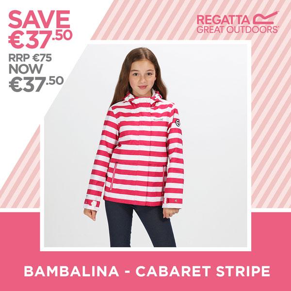 Regatta save €37.50 - Bambalina Carbaret Stripe