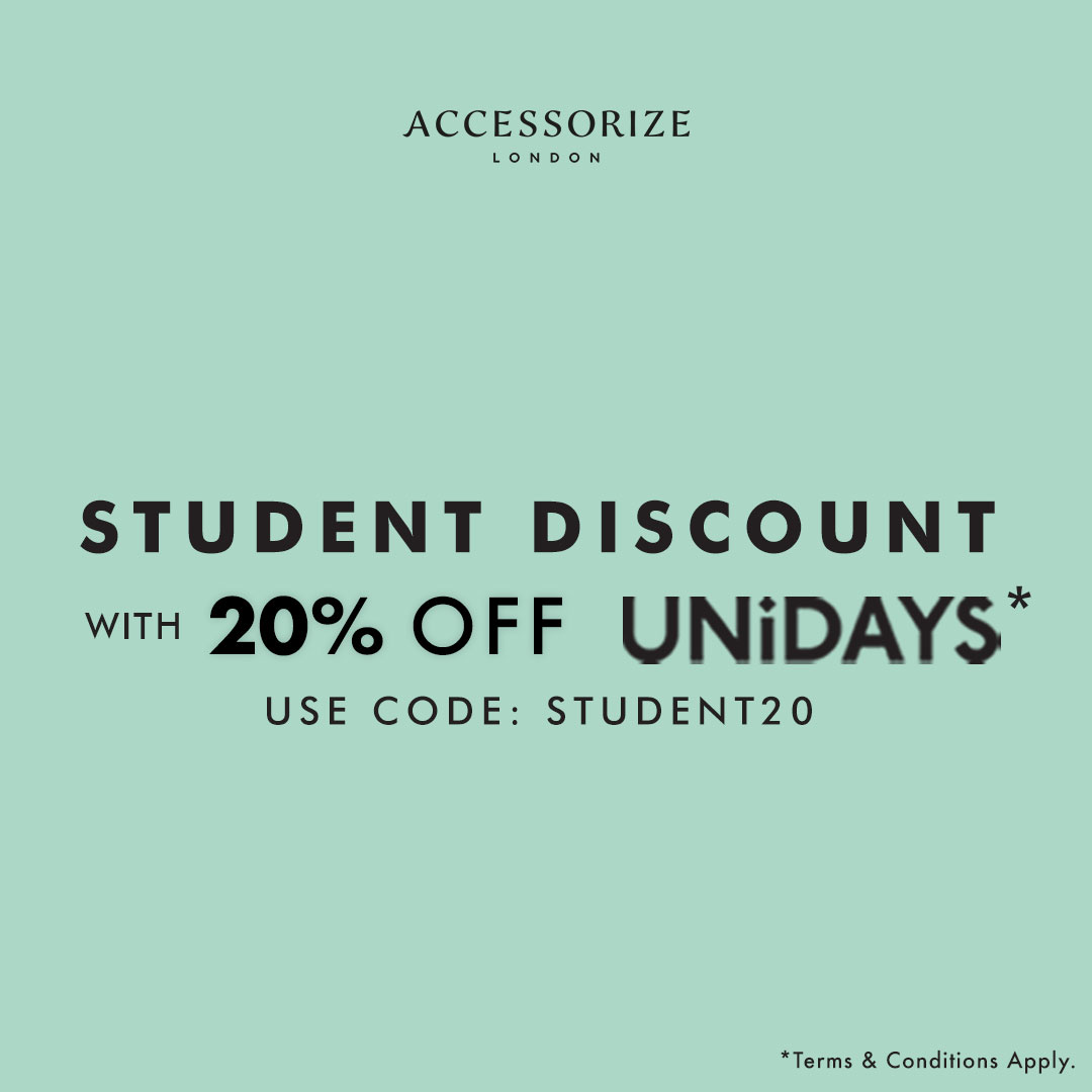 Accessorize student discount