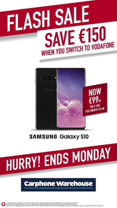 Carphone Warehouse Flash Sale April 19