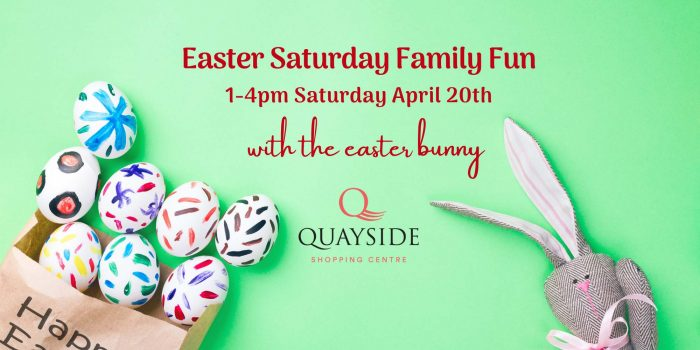 Easter fun at Quayside