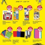 Rule back to school stationary offers.