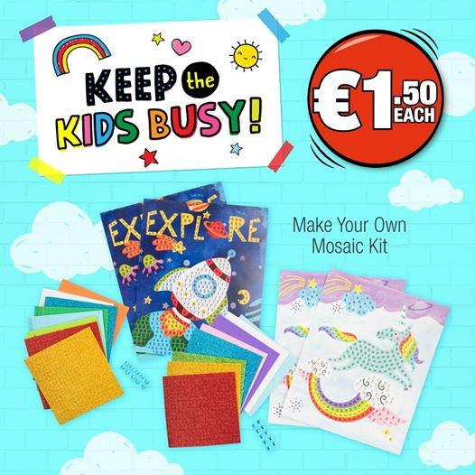 Keep the kids busy at Dealz
