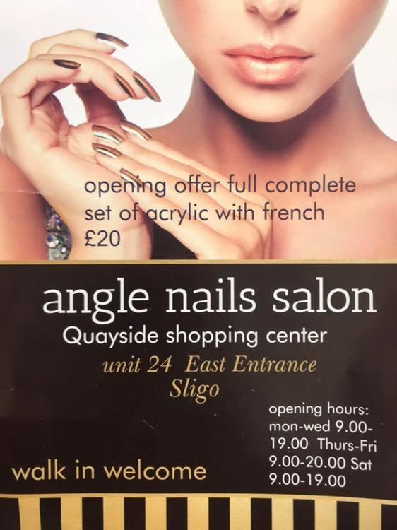 angel nails poster
